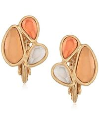 The Sak - Small Cluster Clip-on Earrings - Lyst