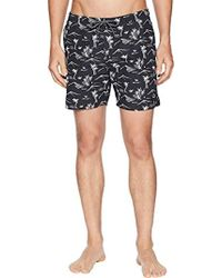 Scotch & Soda - Elasticated Swimshort With Colourful All-over Print - Lyst