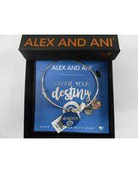 ALEX AND ANI - Words Are Powerful, Ewb Bangle Bracelet - Lyst