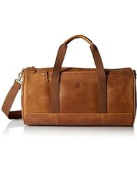 Timberland - Tuckerman Leather Duffel Bag - Lyst