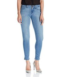 PAIGE - Verdugo Ankle Jean With Side Slits - Lyst