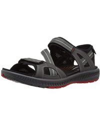 e1a4cc71a413 Teva Terra Fi Lite Men s Sandals In Black in Black for Men - Lyst