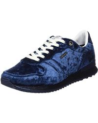 Pepe Jeans - Gable Velvet Low-top Trainers - Lyst