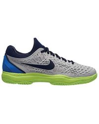 sale retailer 940fc 92ded Nike - Air Zoom Cage 3 Hc Tennis Shoes, Multicolour (vast Grey blackened