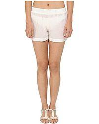 Kate Spade - Marina Piccola Shorts Cover-up - Lyst