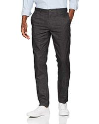 Tommy Hilfiger - Straight Denton Chino Wool Look Trouser - Lyst