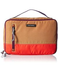 Vera Bradley - Lighten Up Large Blush & Brush Case, Polyester - Lyst