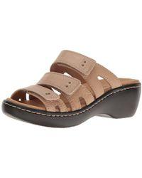 2b96b79c4dc9 Clarks - Delana Damir Dress Sandal - Lyst
