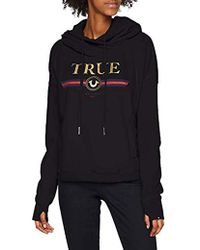 True Religion - Cropped Hoody - Lyst