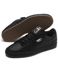 competitive price 3d1b3 9dccd PUMA Suede Black Gum Men's Shoes (trainers) In Brown in ...