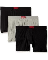 Levi's - House Mark 3-pack Cotton Boxer Briefs - Lyst