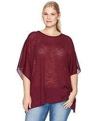 Jones New York - Plus Size Scoop Nk Caftan W/closed Sides - Lyst