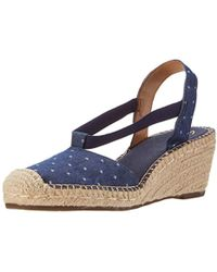 Clarks - Petrina Kalie Wedge Heels Sandals - Lyst