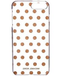 a0b2c33319f2 Lyst - Michael Kors Electronics Iphone 6 Cover in Metallic