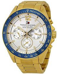 Tommy Hilfiger - 1791121 Sophisticated Sport Gold-tone Stainless Steel Watch - Lyst