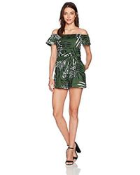 Guess - Short Sleeve Fulton Paperbag Romper - Lyst