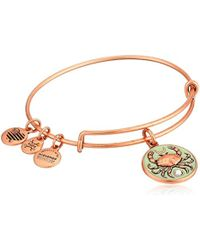ALEX AND ANI - S Color Infusion Crab Iii Bangle - Lyst