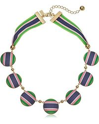 Kate Spade - Necklace Set Sail Necklace - Lyst