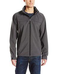 Izod - Water Resistant Active Jacket With Hidden Hood - Lyst