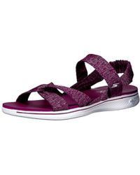 7d3a190142c2 Skechers - Performance H2 Goga Bountiful Flip Flop - Lyst