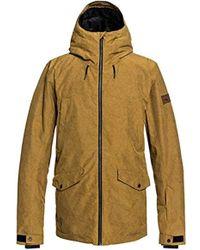 Quiksilver - Drift 10k Snow Jacket - Lyst