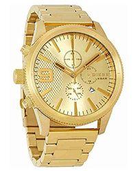 DIESEL - Watches Rasp Chrono 50mm Watch - Lyst