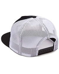 Lyst - Brixton Traction High Profile Adjustable Mesh Hat in Black ... 6d3122c026fb