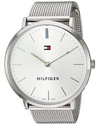 Tommy Hilfiger - 'sophisticated Sport' Quartz Stainless Steel Watch, Color:silver-toned (model: 1781690) - Lyst