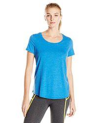 Lark & Ro - Active Scoopneck Super Wash T-shirt - Lyst