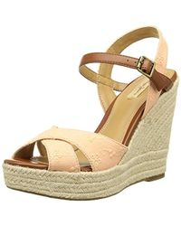 Pepe Jeans - Walker Romantic, 's Flat Wedge Platform Sandals - Lyst