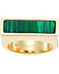 Trina Turk - Sunset Hills Bar Ring, Size 6.5-7.5 - Lyst