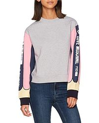 Love Moschino - Sweater_pencil Sleeve Sweatshirt - Lyst