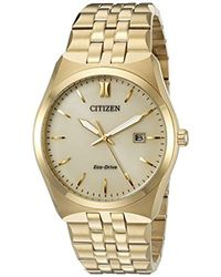 Citizen - Eco-drive Stainless Steel Watch With Date, Bm7332-53p - Lyst