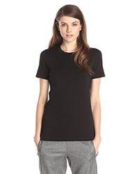 Theory - Johnna Classic Tee Shirt - Lyst