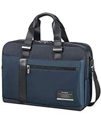 Samsonite - Blue Open Road Laptop Briefcase - Lyst