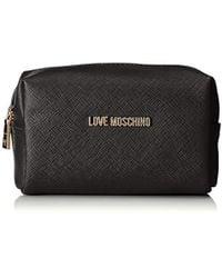 Love Moschino Bustina Pu Bag Organiser - Black