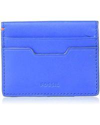 Fossil - Card Case Wallet - Lyst
