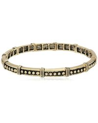 BCBGeneration - Textured Faux Wire Wrapping Stretch Bracelet - Lyst