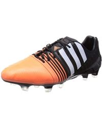 6d94374ae adidas Nemeziz 172 Fg Men's Football Boots In Black in Black for Men - Lyst