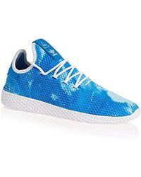 Adidas' pw tennis hu fitness scarpe, gris in giallo per gli uomini lyst
