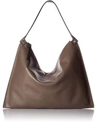 Ecco - Sculptured Shoulder Bag - Lyst