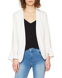 Vero Moda Vmisabel Blazer Suit Jacket - White
