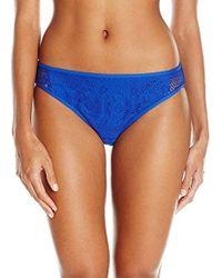 Kenneth Cole Reaction - Suns Out Buns Out Crochet Hipster Bikini Bottom - Lyst