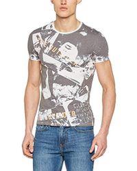 Guess - Herren T-Shirt CN Ss Gaze On Tee - Lyst