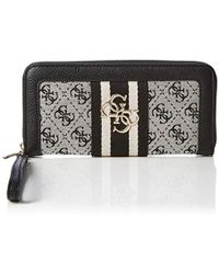 Guess - Vintage Large Zip Around Wallet - Lyst