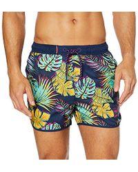 Superdry - Echo Racer Swim Short Pantalones Cortos para Hombre - Lyst