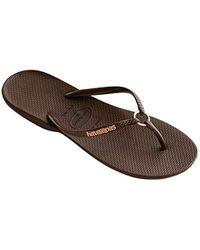 Havaianas - Flip Flop Sandals, Ring - Lyst