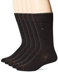 Tommy Hilfiger - 5 Pair Flat Knit Rayon Blend - Lyst