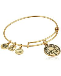 ALEX AND ANI - Charity By Design Power Of Unity Bangle Bracelet - Lyst