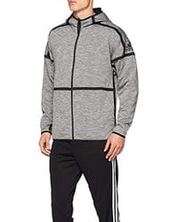 new product c0661 d50f8 adidas - M Zne Revers Hd Sports Hoodie - Lyst